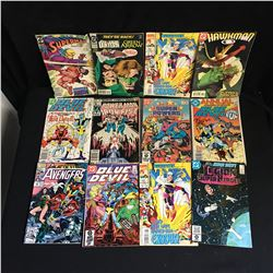 VARIOUS COMIC BOOK LOT (AVENGERS, BLUE DEVIL)