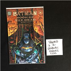 BATMAN BOOK OF THE DEAD NO.1 SIGNED ( KITSON, MOENCH ) DYNAMIC FORCES COA