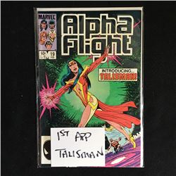 ALPHA FIGHT NO.19 ( 1ST APPEARANCE TALISMAN)