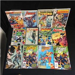 VARIOUS SUPERHERO COMICS LOT( THING, AVENGERS...)
