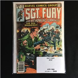 1980 MARVEL COMICS 157 SGT. FURY