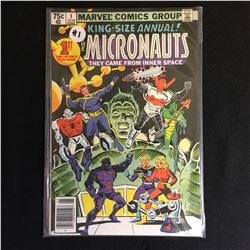 MARVEL COMICS KING SIZE ANNUAL MICRONAUTS NO.1