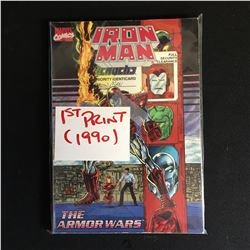 MARVEL COMICS IRON MAN 1ST PRINT 1990
