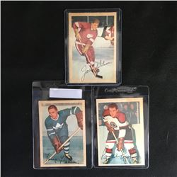 1954 PARKHURST HOCKEY CARD LOT