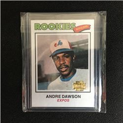 2001 TOPPS ARCHIVES ANDRE DAWSON ROOKIE CARD