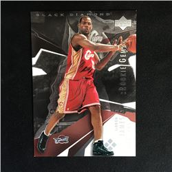 UPPER DECK BLACK DIAMOND JUMBO ROOKIE LEBRON JAMES