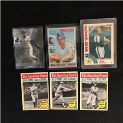 BASEBALL STAR CARD LOT