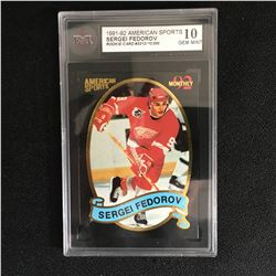 LTD EDITION 1991 AMERICAN SPORTS SERGEI FEDOROV ROOKIE KSA 10