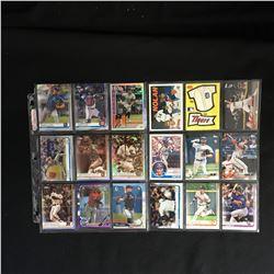 MLB BASEBALL STAR CARD LOT