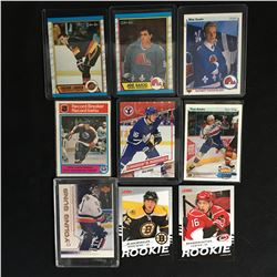 NHL ROOKIE CARD LOT