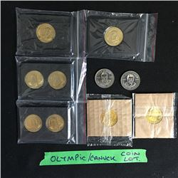 OLYMPIC CANUCK COIN LOT
