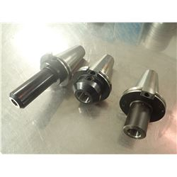 "(3) New CAT50 End Mill Holders, 3/4"", 1"", 1.25"""