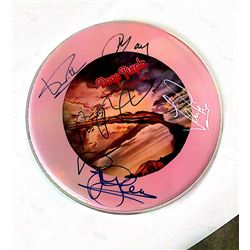 Signed Deep Purple - Pink Drumhead