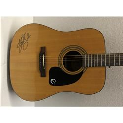 Garth Brooks Signed Acoustic Guitar