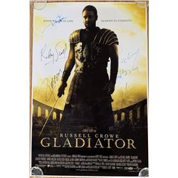 Signed Gladiator Movie Poster
