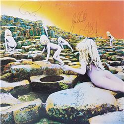 Signed Led Zeppelin, Houses Of The Holy Album Cover