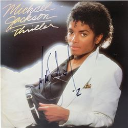 Signed Michael Jackson, Thriller Album Cover