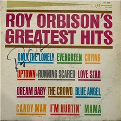 Signed Roy Orbison Roy Orbison's Greatest Hits Album Cover