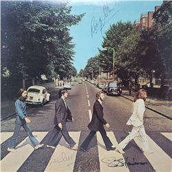 Signed by The Beatles, Abbey Road Album Cover