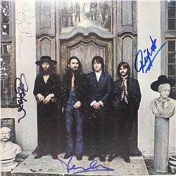 Signed Beatles Hey Jude Album Cover