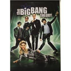 Signed The Big Bang Theory Poster
