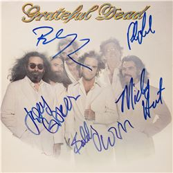 Signed Grateful Dead Go To Heaven Album Cover