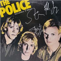 Signed The Police , Outlandos D'Amour Album Cover