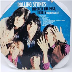 Signed The Rolling Stones, Through The Past Darkly Album Cover