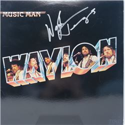 Signed Waylon Jennings, Music Man Album Cover