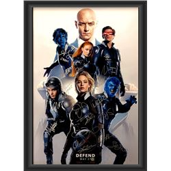 Signed X-Men: Apocalypse Movie Poster