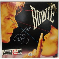 "Signed David Bowie ""China Girl"" Promotional Album"
