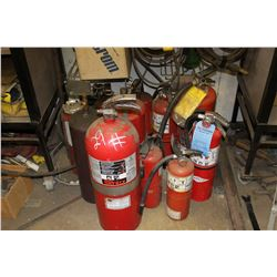 APPROX. 12 FIRE EXTINGUISHERS