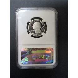 2010-S Silver Grand Canyon Quarter- Graded PF 70 Ultra Cameo by NCG