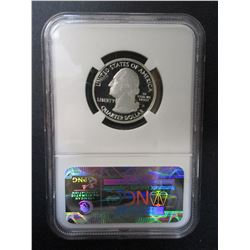 2010-S Silver Yosemite Quarter- Graded PF70 Ultra Cameo by NCG
