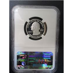 2010-S Silver Hot Spring Quarter- Graded PF70 Ultra Cameo by NCG
