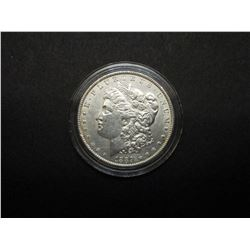1889 Uncirculated Morgan Silver Dollar- Guaranteed MS60 or Better- National Collectors Mint