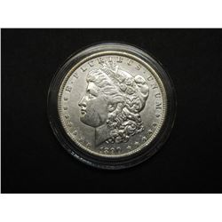 1890 Uncirculated Morgan Silver Dollar- Guaranteed MS60 or Better- National Collectors Mint