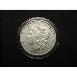 1900-O Uncirculated Morgan Silver Dollar- Guaranteed MS60 or Better- National Collectors Mint