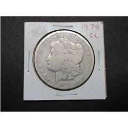 1878 Carson City Morgan Silver Dollar