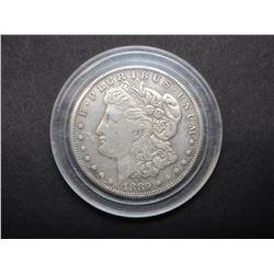 1889 Carson City Morgan Silver Dollar- Rare Date- Fine