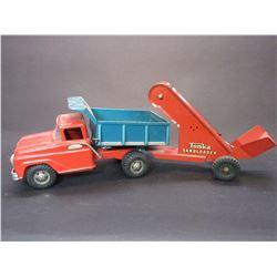 """Tonka Dump Truck with Tonka Sand Loader- Total 23""""L X 5.5""""W"""
