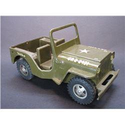 """Tonka Army Jeep- 9.5""""L X 5""""W X 3.5""""H"""