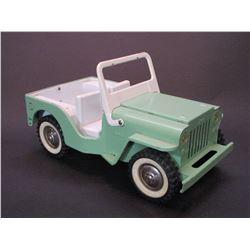 """Tonka Jeep- 9.5""""L X 5""""W X 3.5""""H"""