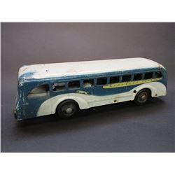 "Metal Greyhound Bus- 16""L X 4.5""W X 4.5""H"