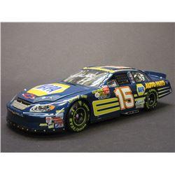 Signed Michael Waltrip 2003 Monte Carlo Elite Car- Daytona 500 Win Raced Version- 1/604- Box