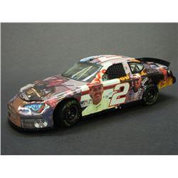 "Signed Rusty Wallace 2005 Charger Elite Car- 9X Bristol Winner- 1/502- Box- 8.5""L x 3""W X 2.5""H"