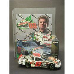 "Signed Dale Earnhardt Jr 2005 Monte Carlo Elite Car- Pepsi 400 Winner- 1/1200- Box- 8.5""L X 3""W X 2."