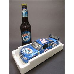 Signed Kurt Busch and Eva Busch 1:24 Scale Stock Car- 2008 Charger- 1/3408- Box- Letter of Authentic