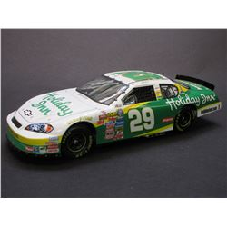 Signed Jeff Burton 1:24 Scale Stock Car- 2006 Monte Carlo SS- 1/1356- Box- Letter of Authenticity