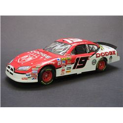 Signed Elliott Sadler 1:24 Scale Stock Car- 2007 Charger Limited Edition- Box- Letter of Authenticit